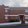 26 July 2015: Apartment building, Overell Street, Dynnyrne, Hobart, Tasmania.