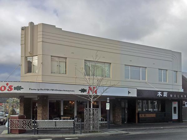 Retail building, 343-345 Elizabeth Street, North Hobart, Tasmania.