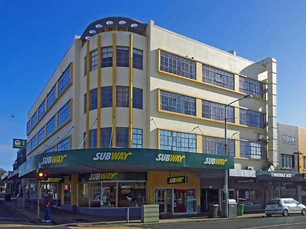 31 July 2015: Office building, Devonport, Tasmania.
