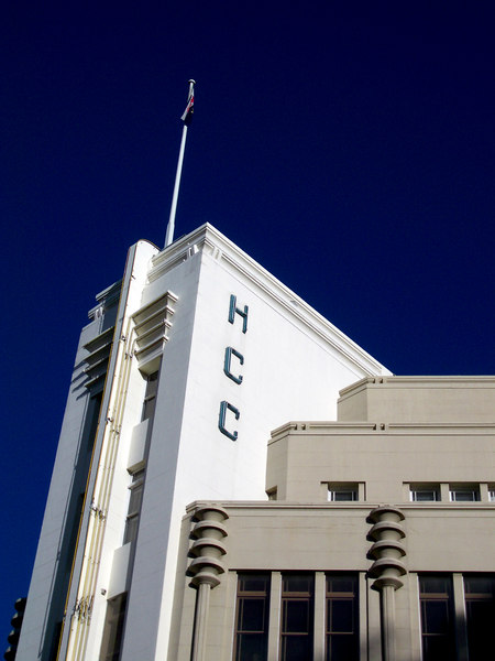 Hydro-Electric Commission Building, corner or Davey and Elizabeth Streets, Hobart.