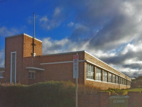 27 July 2015: Campbell Town School, Campbell Town, Tasmania.