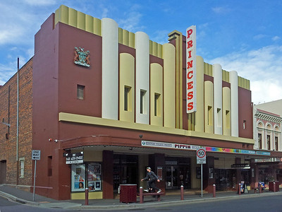 30 July 2015: Princess Theatre, Brisbane Street, Launceston, Tasmania.