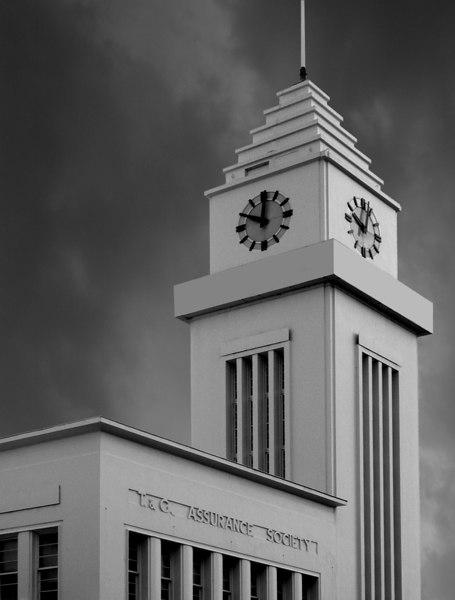 T&G Assurance Building, Warnambool (b&w version).