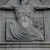 Relief sculpture detail, National Bank of Australasia, Collins Street, Melbourne.