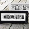 Custom Name Frame - Black or Ivory (5x13)
