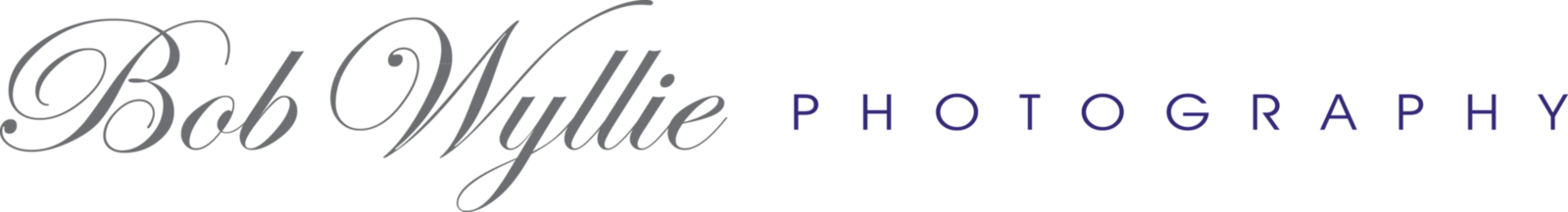 Bob Wyllie Photography Logo_2017_Gray-Purple