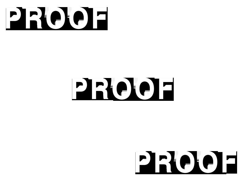 PROOF X3