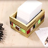 Thanksgiving/ Christmas Gratitude Journal Blessings Box