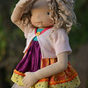 "20"" tall Poseable doll ""Talia"""