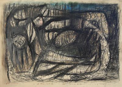Rider (Drawing 6), 1958