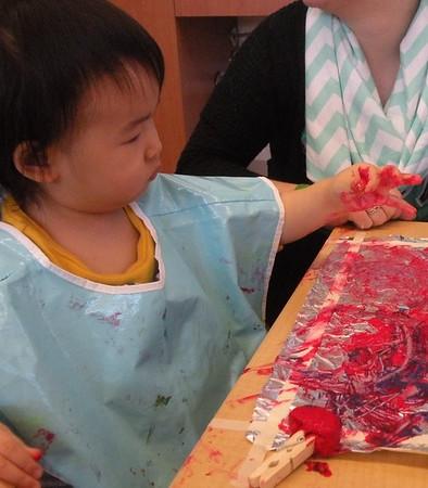 Foil Paint - Toddlers