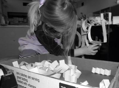 Paper Sculptures - Pre-K 2