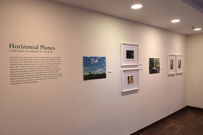 2017 Horizontal Planes: Adelphi Art Student Landscapes