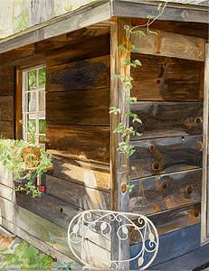 "2012-2013 Maria Katzman ""Cabin Paintings"""