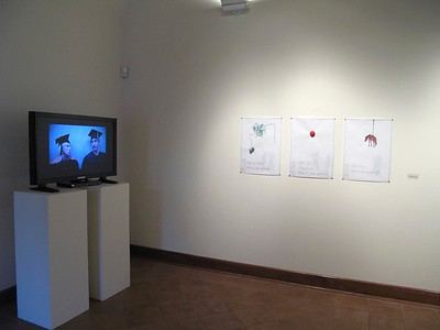 Department of Art and Design Faculty Exhibition, September 2011, installation view