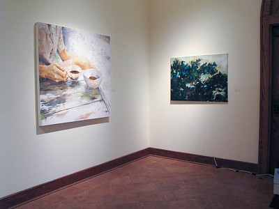 BFA & BA Senior Portfolio Exhibition Fall 2012, installation view