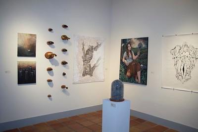 BFA & BA Senior Portfolio Exhibition Spring 2013, Installation View