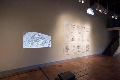 Lee Walton Plays the World (On His Phone): A Chess Project in 40 Parts, November 2013, Installation View