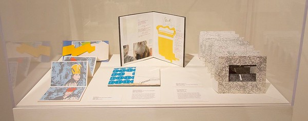 Hand, Voice, & Vision: Artist's Books from Women's Studio Workshop, September 2014, Installation View