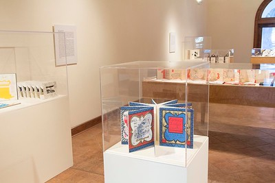 Hand, Voice, & Vision: Artist's Books from Women's Studio Workshop, September 2014, Installation View