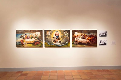 Edgar Endress, Finding Baroque, Installation View