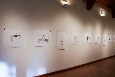 BFA & BA Senior Portfolio Exhibition Fall 2015, Installation View