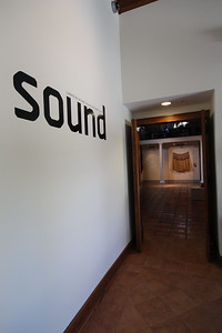 Sound, Curated by Michael Dickins and Barry Jones, Installation View.