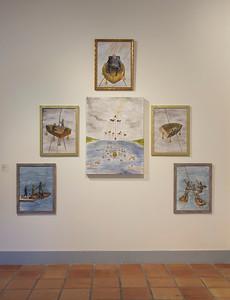 Lauren Curtis, BA installation view