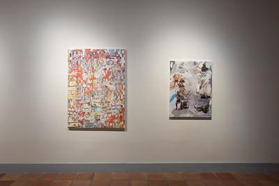 Jibade-Khalil Huffman, A Tondo for Rajon Rondo, Installation View