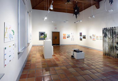 Department of Art and Design Faculty Exhibition 2017, Installation View.