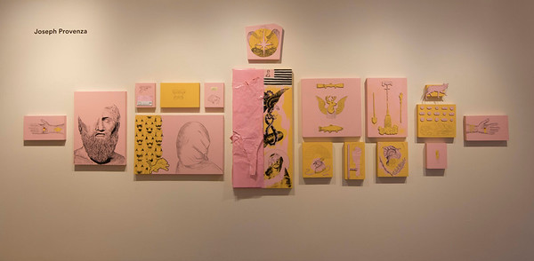 BFA & BA Senior Portfolio Exhibition Fall 2017, Installation View