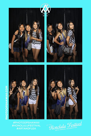 Art + Flea at Honolulu Festival (Stand Up Photo Booth)