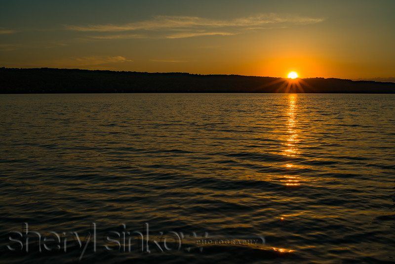 Cayuga Sunset