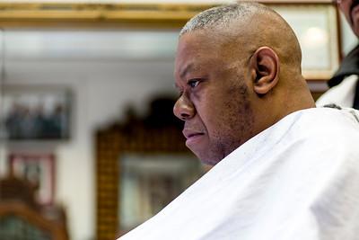Man At Barbershop