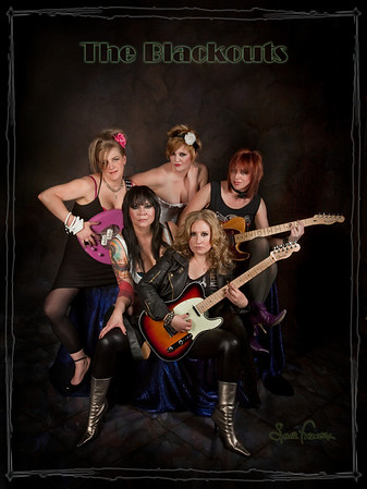 Blackouts Girl Band