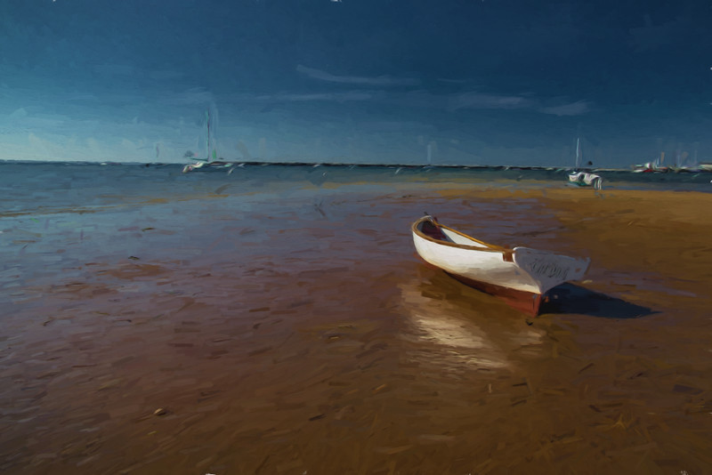 Wooden Boat - Provincetown