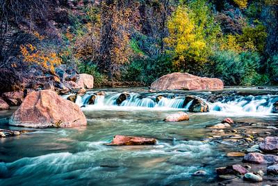 Virgin River in Autumn