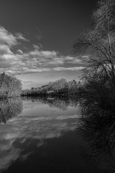 Blackstone River (B/W)