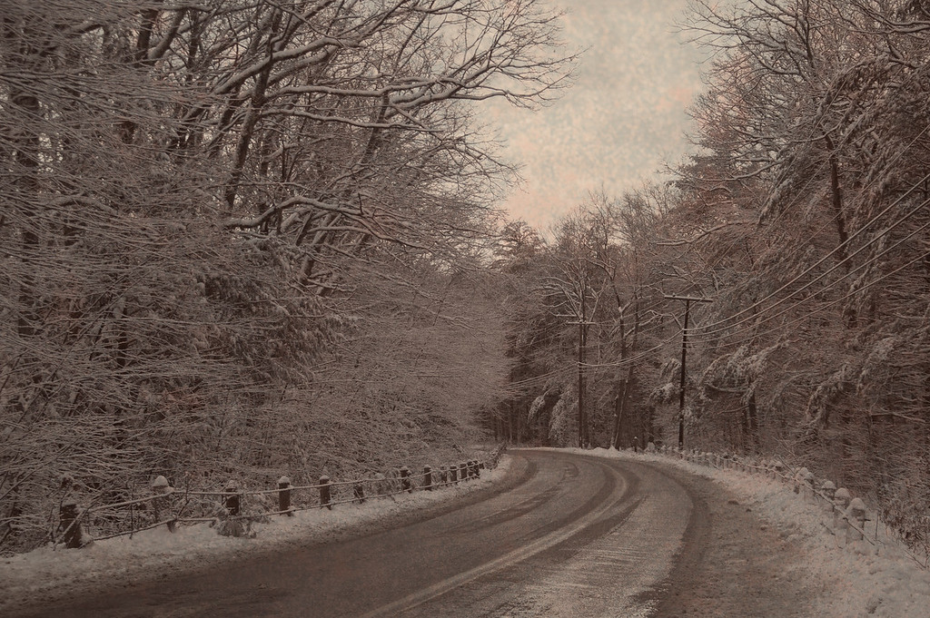 Road in Sepia (landscape)