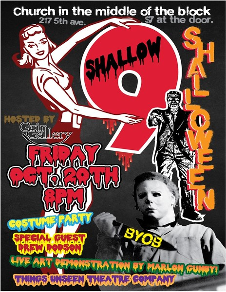 COSTUME PARTY Friday 10/20