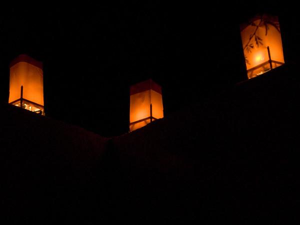More Luminarias!