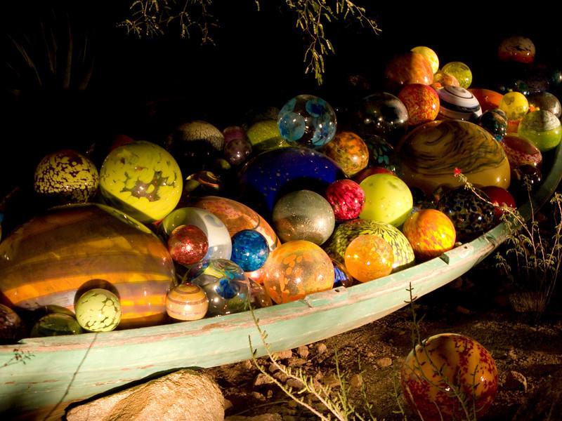 Boat of balls