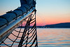 Bowsprit at Sunset
