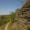 Заліщики 2008, вересень, 28. Від колії - вниз, до Дністра.