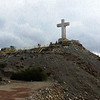 Decent From The Cross - Mount Cristo Rey El Paso TX - Oil Painting