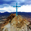 Station 13 Landscape - Mount Cristo Rey, El Paso, TX - Oil Painting