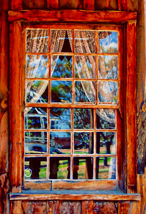 Window Old West a_