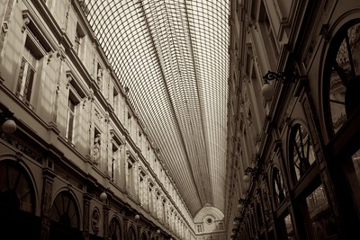 Brussels' arcade