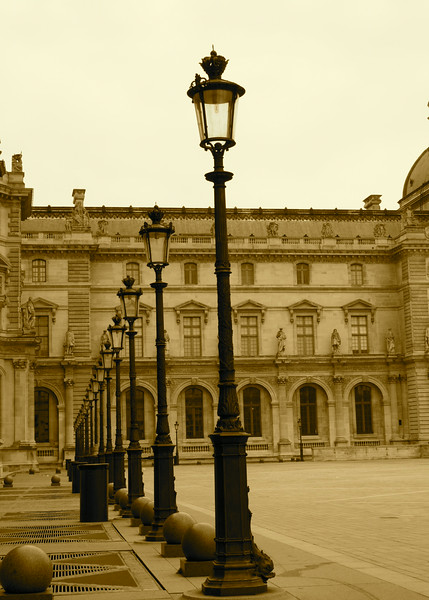 Louvre Court Yard