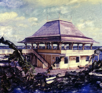 Pavilion at Thousand Islands Park